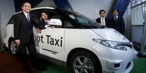 Robot taksilər istifadəyə veriləcək