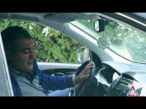 Sərxoş sürücünün axırı belə olur – DYP-dən təsirli VİDEO