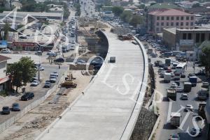 Sürücülərə müjdə: Ziya Bünyadov prospektinin asfaltlanmasına başlandı