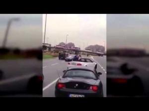 «Avtoş» sürücünün toyunda «avtoş»lardan təhlükəli ŞOU